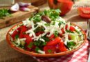 Készíts Sopszka salátát egyszerűen !