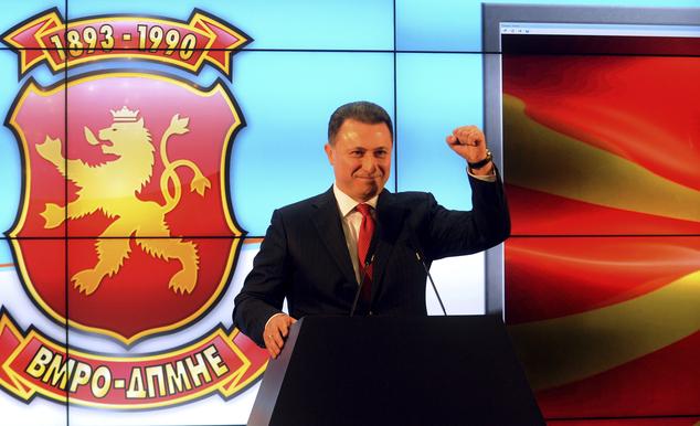 Máris gyanúsított lett a volt macedón miniszterelnök