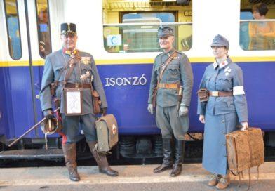 Történelmi különvonat: Isonzó expressz