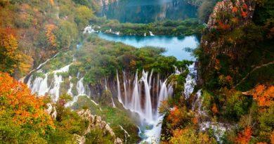 Ősszel is csodaszépek a Plitvicei-tavak