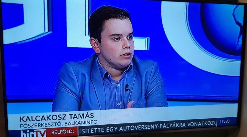 A HírTV Globál című műsorában szerepeltünk