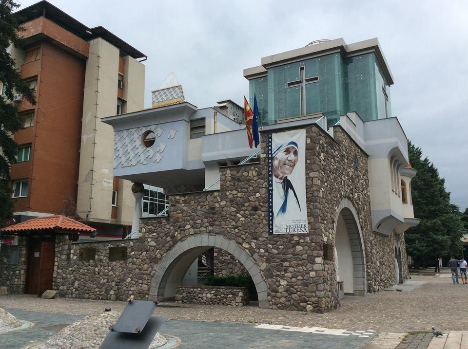 Teréz anya múzeum Szkopje